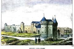 """Copyright : """"Bibliothèque municipale de Lille, 44214, planche 1"""". / Porte Saint-Pierre"""