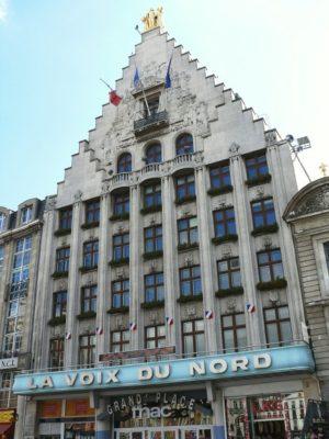 Façade de la Voix Du Nord - Grand'place