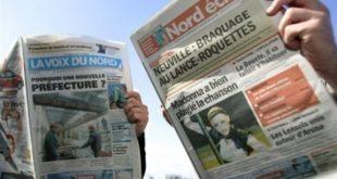 2 journaux du groupe Voix du Nord: La Voix du Nord et Nord Eclair
