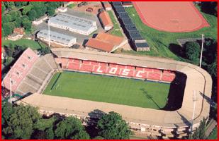 Stade Grimonprez-Jooris vue du ciel