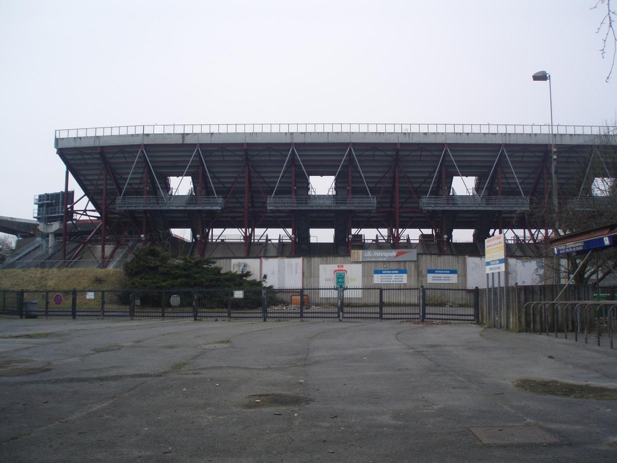Le Stade Grimonprez Jooris Zoom Sur Lille
