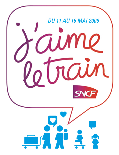 Logo J'aime le train 2009