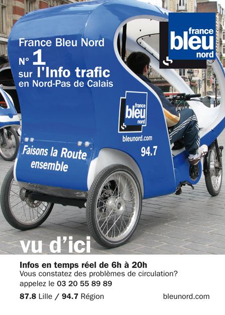 radio france à Lille : France Bleu Nord - 94,7 FM & France Inter - 103,9 FM