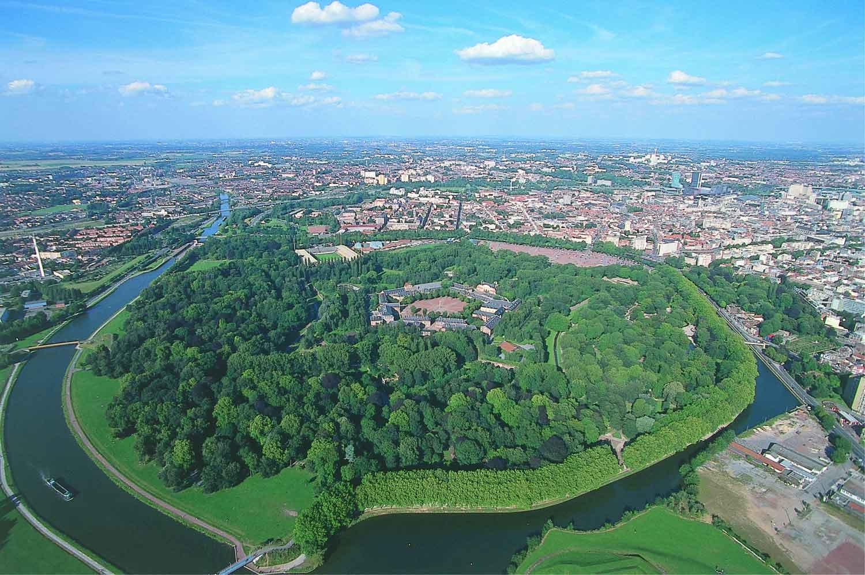 Les travaux de la Citadelle de Lille se poursuivent...