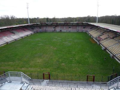 Stade Grimonprez Jooris avant sa déconstruction