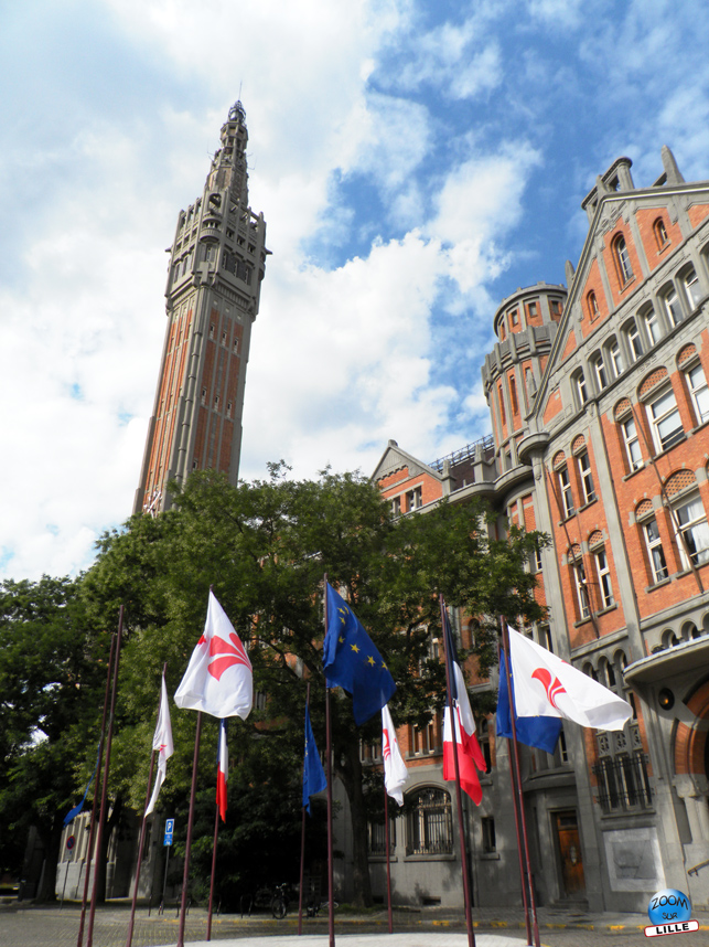 Beffroi de la mairie de Lille - Copyright Zoom Sur Lille