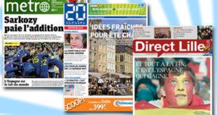 Journaux gratuits à Lille