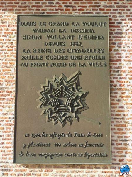 Plaque Citadelle