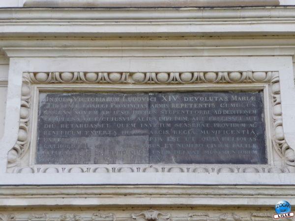 Inscription Porte Royale