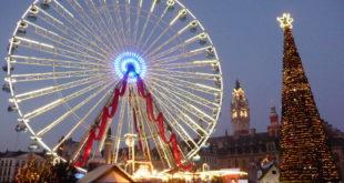 La Grande Roue et la Chenille sont arrivées à Lille