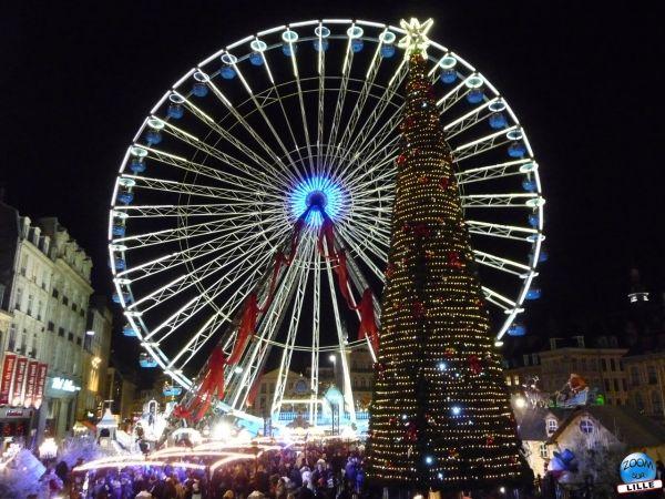 La Grande Roue reste sur la Grand'Place de Lille jusqu'au 30 janvier 2011