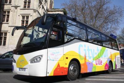 Nouveaux bus, nouveau parcours pour le City Tour de Lille