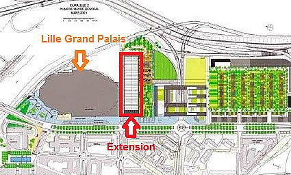 Copyright : DR / Extension de Lille Grand Palais