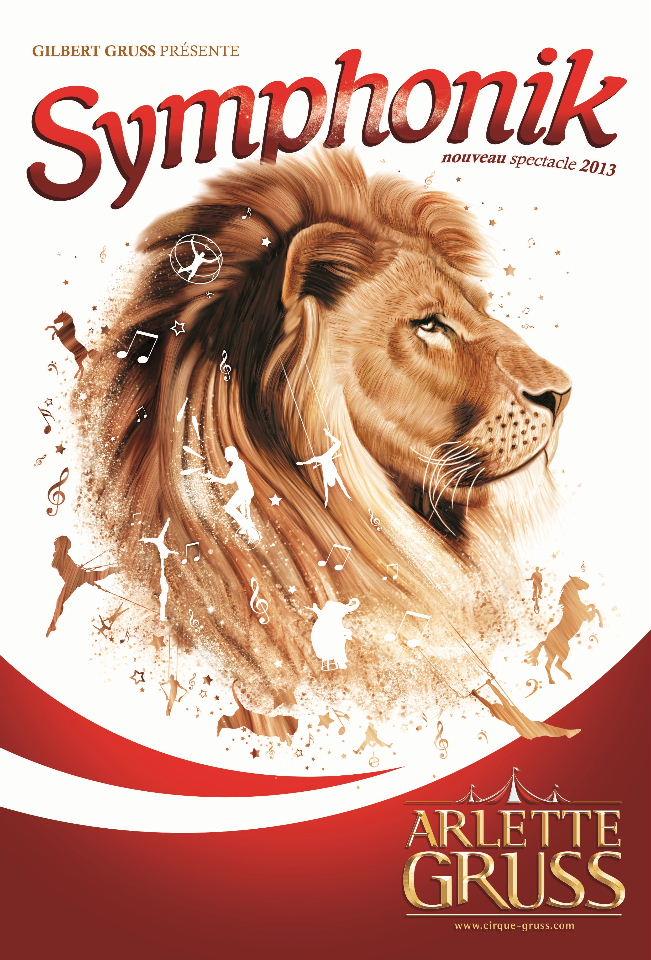 Le Cirque Arlette Gruss est à Lille jusqu'au dimanche 24 mars 2013