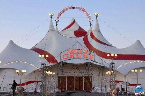 """Un spectacle """"Symphonik"""" au Cirque Arlette Gruss !"""