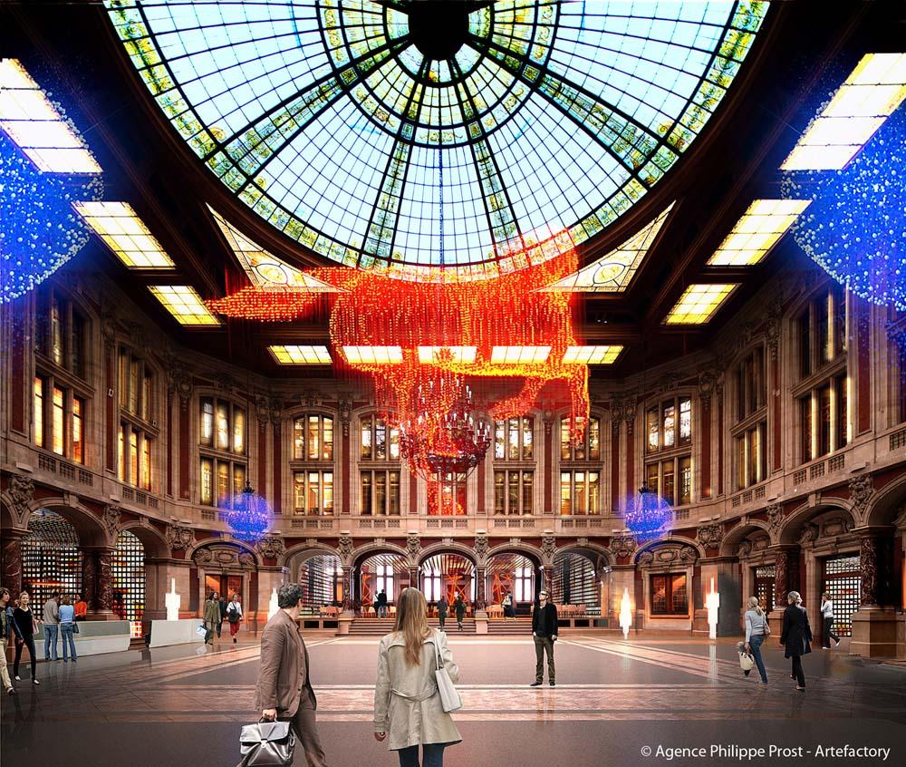 Copyright : Agence Philippe Prost - Artefactory / Palais de la Bourse