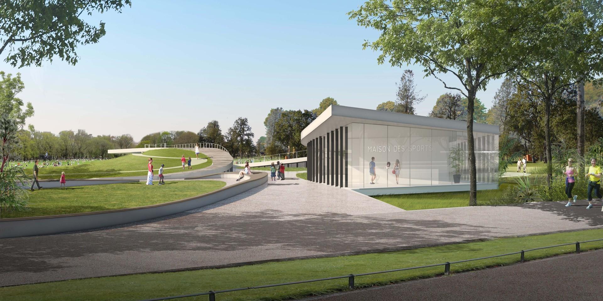 Copyright : DR / Wonk Architectes / Plaine des Sports et de Loisirs