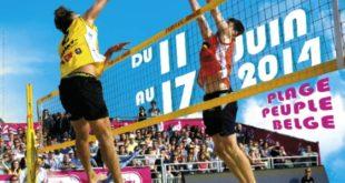Le Lille O Beach Volley aura lieu à Lille du 11 au 17 juin 2014