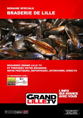 Braderie de Lille 2014 - Grand Lille TV