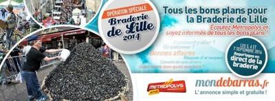 Braderie de Lille 2014 - Métropolys
