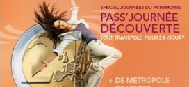 Un Pass Journée Découverte à 2€ pour voyager en illimité sur le réseau Transpole les 20 & 21 septembre 2014