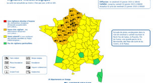 Alerte Météo - Vigilance Orange Nord