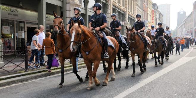Braderie de lille 2015 le bilan for Police nationale lille
