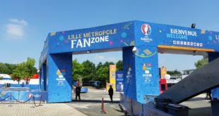 visite de la Fan Zone Lille Métropole