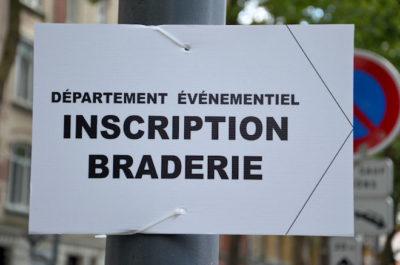 Braderie de Lille 2016 : Réservez votre emplacement à partir du 08 août 2016