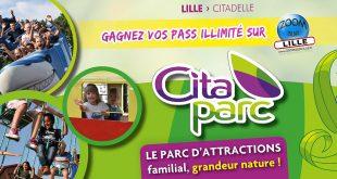 Gagnez vos Pass Illimité pour le parc d'attractions Cita-Parc