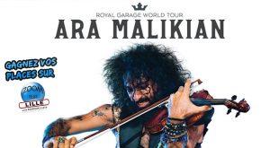 Gagnez vos places pour le concert d'Ara Malikian - Royal Garage World Tour au Colisée de Roubaix