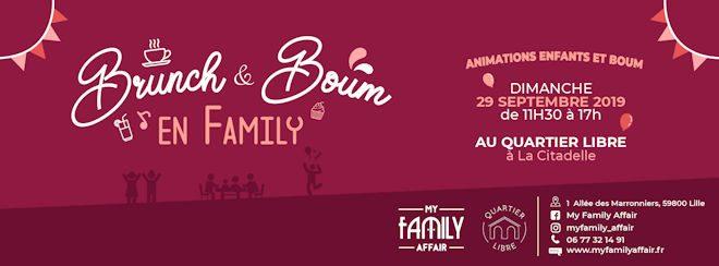 Dimanche 29 septembre 2019, Brunch & Boum en Family au Quartier Libre de Lille