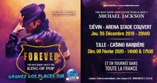 Gagnez vos places pour le spectacle FOREVER à l'Arena Stade Couvert de Liévin