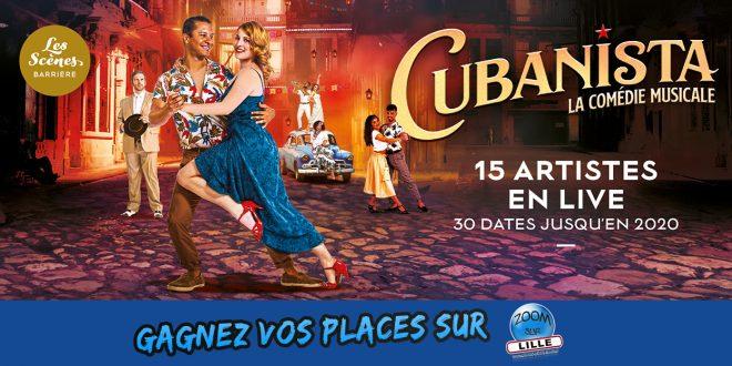 Gagnez vos places pour le spectacle Cubanista (cocktail spectacle) au Théâtre du Casino Barrière Lille