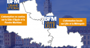 Grand Lille TV deviendra BFM Grand Lille le 3 février 2020