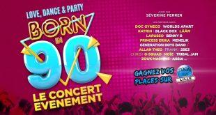 Gagnez vos places pour le concert Born in 90 au Zénith de Lille