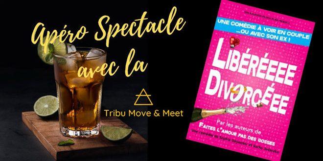 Mercredi 26 février 2020, la Tribu Move and Meet propose une soirée Apéro-Spectacle à la Comédie de Lille - Zoom Sur Lille