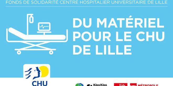 [Covid-19] Le CHU de Lille lance une campagne de financement participatif pour renforcer les équipements des hôpitaux du territoire.