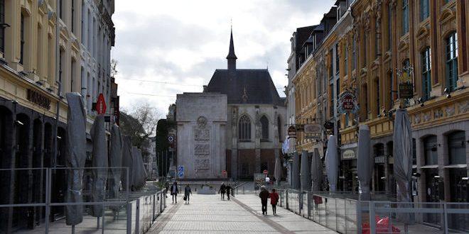 [Covid-19] Découvrez Lille, ville fantôme grâce aux photos et vidéos de TF1, La Voix du Nord, France 3, Lille Actu, 20 minutes, Ville de Lille, Let's Fly Production…