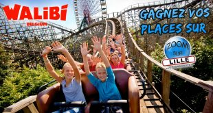 Gagnez vos places pour le parc d'attractions Walibi Belgium