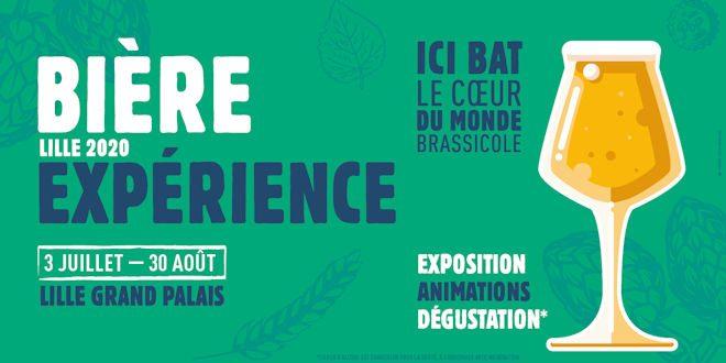 Du 03 juillet au 30 août 2020, L'Échappée Bière, Culture B et Lille Grand Palais organisent une grande exposition sur la bière