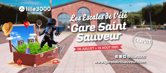 Les Escales de l'été – Gare Saint Sauveur du 08 juillet au 16 août 2020