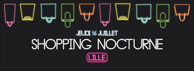 Jeudi 16 juillet 2020, l'Association GAEL, la FLCAS et la Ville de Lille organisent un Shopping Nocturne !