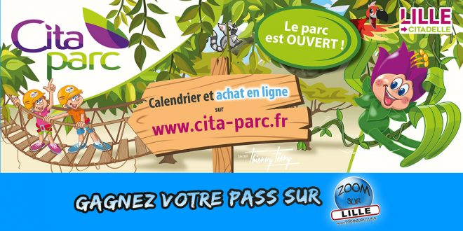 Gagnez votre Pass Illimité pour le parc d'attractions Cita-Parc