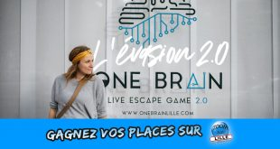Gagnez vos places pour One Brain - Escape Game 2.0