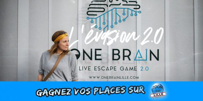 Gagnez vos places pour One Brain - Escape Game 2.0