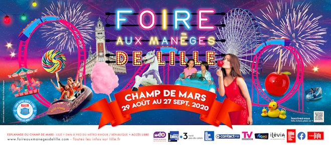 La Foire aux Manèges est prévue à Lille du 29 août au 27 septembre 2020