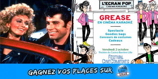 Gagnez vos places pour le Cinéma-Karaoké GREASE au Théâtre du Casino Barrière Lille