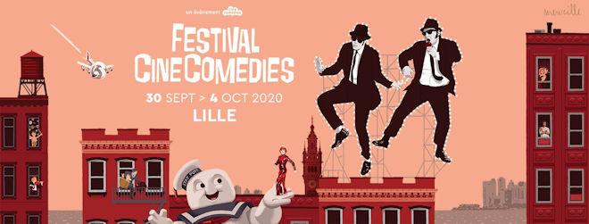 Le Festival CineComedies se déroulera à Lille du 30 septembre au 04 octobre 2020