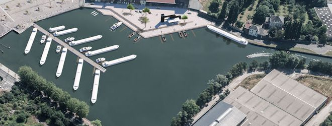 La gare d'eau de Lille-Lomme se refait une beauté